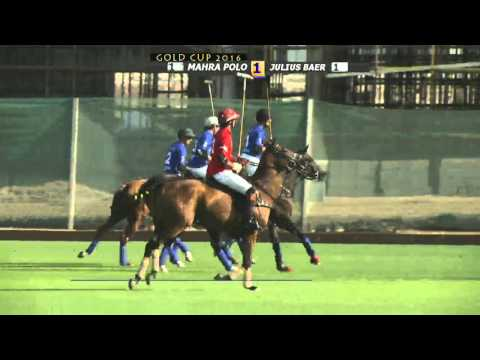 JULIUS BÄR GOLD CUP 2016 JULIUS BAER VS MAHRA