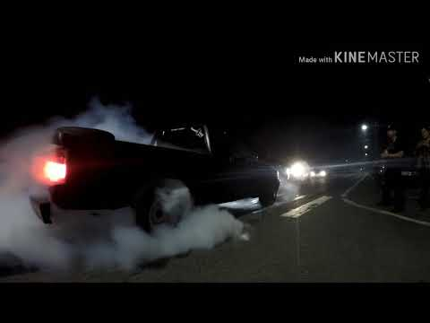 Kahaluu New Years Burnout