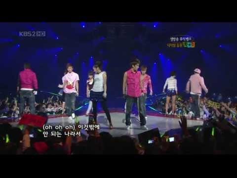 071005 - Bigbang & Wonder girls.Lie & Tell Me @ MB
