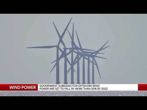 Wind Power price drops open possibility of 'entirely green energy system'