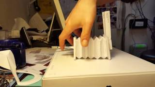 Train whistle papercraft