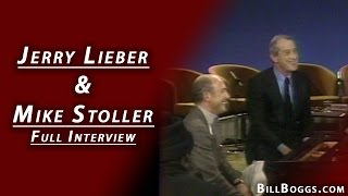 Jerry Lieber and Mike Stoller Full Interview with Bill Boggs