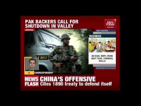 Separatists Call Kashmir Shutdown