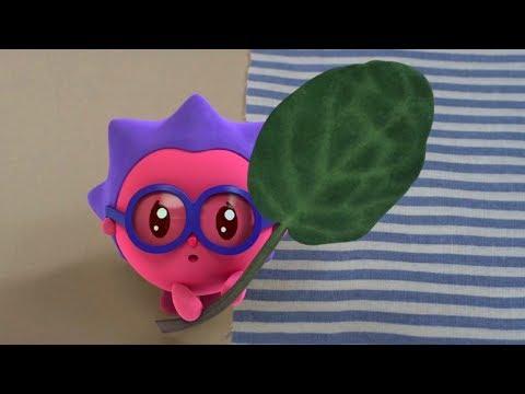 Малышарики - Листочек - серия 81 - обучающие мультфильмы для малышей 0-4