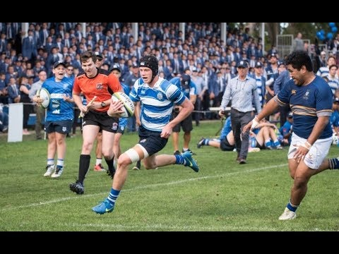 Nudgee College vs Churchie || 1st XV Highlights Rnd 7 2017