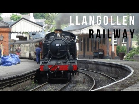 A Trip on the Llangollen Railway