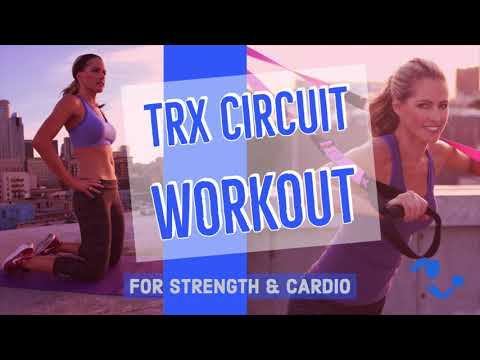 25 Minute TRX Circuit Workout for Strength & Cardio