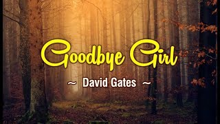 Goodbye Girl - KARAOKE VERSION - as popularized by David Gates