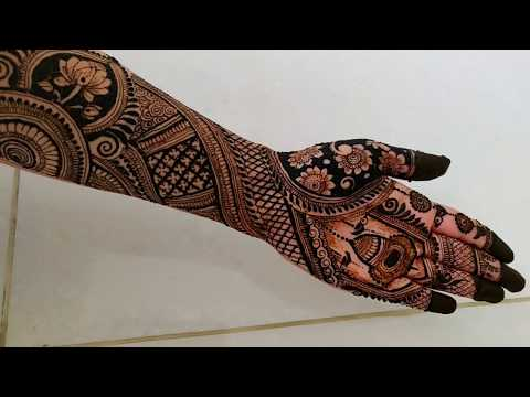 Full  hand bridal mehndi designs  New intricate Indian Wedding Mehndi Designs 2019  मेहंदीडिजाईन