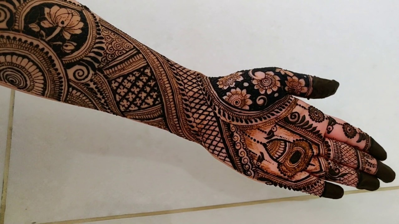mehndi design new full