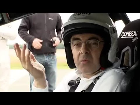 Rowan Atkinson behind the scenes - Top Gear - BBC