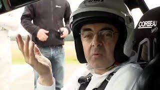 Rowan Atkinson behind the scenes | Top Gear | BBC