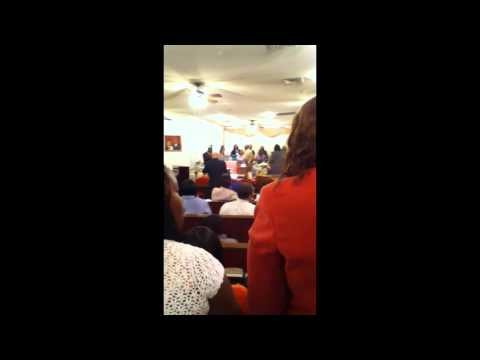 Tried Stone Baptist church choir