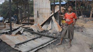 「兵士が村焼いた」 ミャンマー、ロヒンギャ住民 ロヒンギャ 検索動画 13