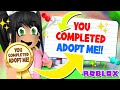 - I ACTUALLY *COMPLETED* ADOPT ME!! Roblox