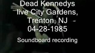 """Dead Kennedys """"Dear Abby"""" live City Gardens, Trenton, NJ 04-28-1985 (SBD)"""