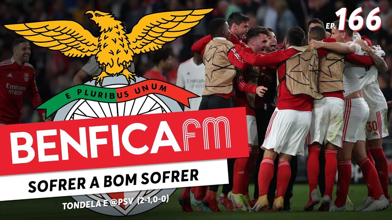 Benfica FM #166 - Tondela e @PSV (2-1, 0-0)