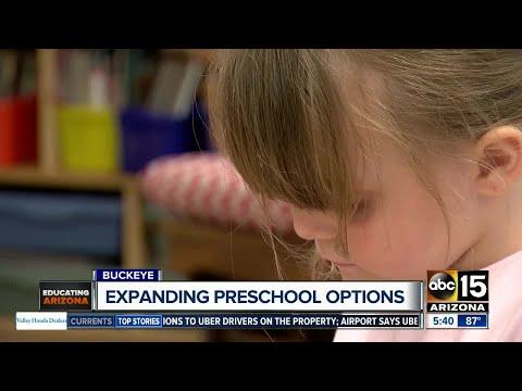 Expanding preschool options in Buckeye