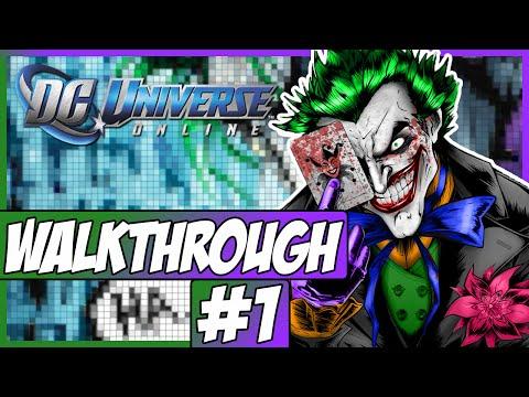 DC Universe Online Walkthrough - Episode 1 - Character Creation!