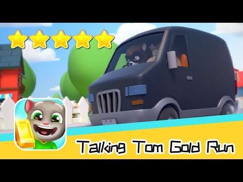 Talking Tom Gold Run Day49 Walkthrough The best cat runner game! Recommend index five stars