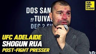 Shogun Reacts to Win Over Tyson Pedro, Explains What Keeps Him Figh...