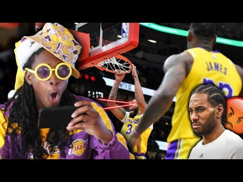LAKERS FAN REACTS TO SIX GAME WIN STREAK!!! CLIPPERS, HOW IS YOUR SEASON GOING?