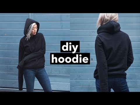 DIY Hoodie from Scratch! | WITHWENDY