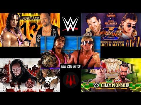 LAS 5 LUCHAS 5 ESTRELLAS EN LA WWE