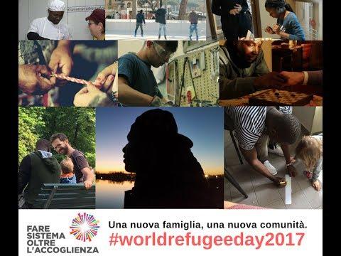 #WorldRefugeeDay 2017 - La storia di Lucien - Fare Sistema Oltre l'Accoglienza