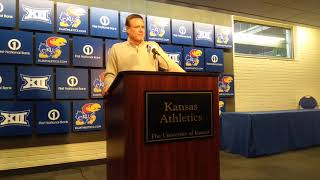Bill Self on Les Miles being hired as KU's next football coach