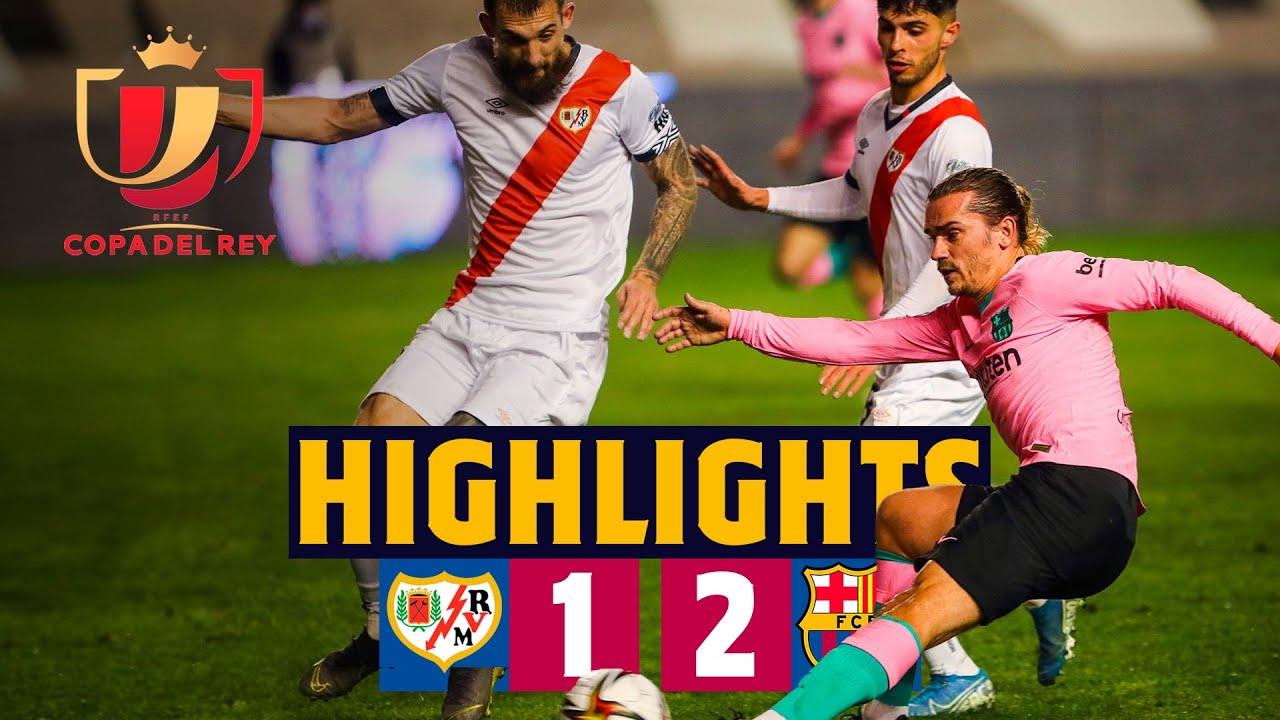 Download HIGHLIGHTS   Rayo Vallecano 1-2 Barça   Copa del Rey