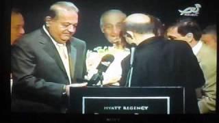 Worldwide Noursat TV: NAM Convention: Mr. Carlos Slim Helu Painting by micha