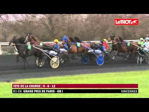 Vincennes   -   Grand Prix de Paris (GROUPE I)   -   Lionel   -   28-02-2016