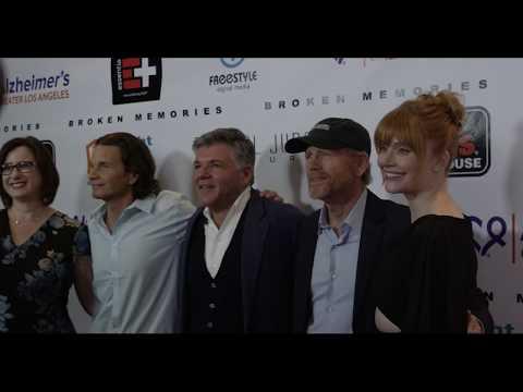 ALZGLA at the red-carpet Hollywood premiere of BROKEN MEMORIES