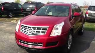 2012 and 2013 Cadillac SRX Side by Side Comparison