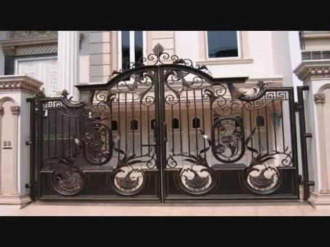56 Pilihan Model Pagar Rumah Minimalis Klasik Besi Tempa Youtube