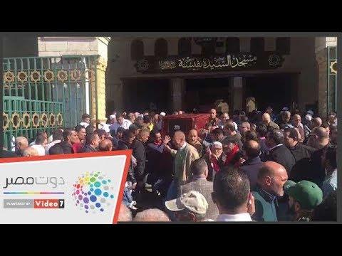 تشييع جنازة الفنان حسن كامى من مسجد السيدة نفيسة  - 12:54-2018 / 12 / 14
