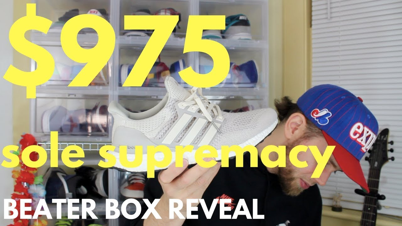 the best attitude 0c688 b1a1b  975 SOLE SUPREMACY BEATER BOX WITH INSANE HYPE FIRE ULTRA BOOST 1.0!!