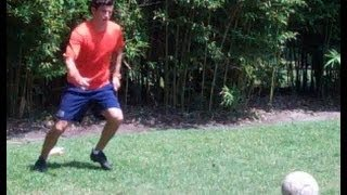 David Beckham Exercise - How to Pass and Move - Online Soccer Academy