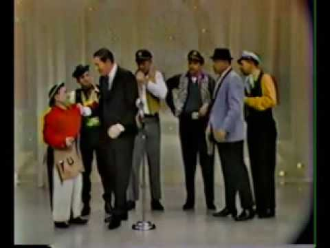 JOHNNY PULEO and his Harmonica Gang w/ Milton Berle - Hollywood Palace 1965