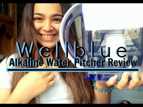 WellBlue Alkaline Pitcher Review + Demo