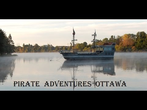 Pirate Adventures Ottawa at Mooney's Bay in Ottawa Ontario Canada