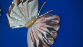 Fazendo uma borboleta de fitas em 3D