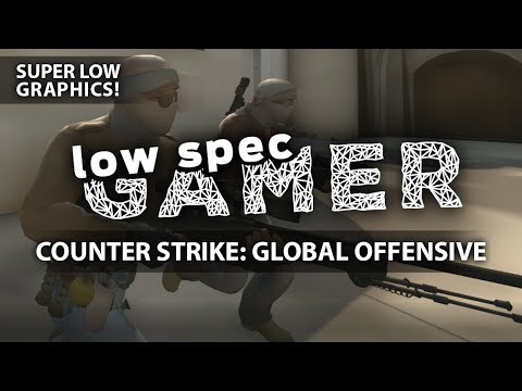 Super low graphics on CSGO, FPS Boost on almost any GPU (Intel Celeron + IntelHD)