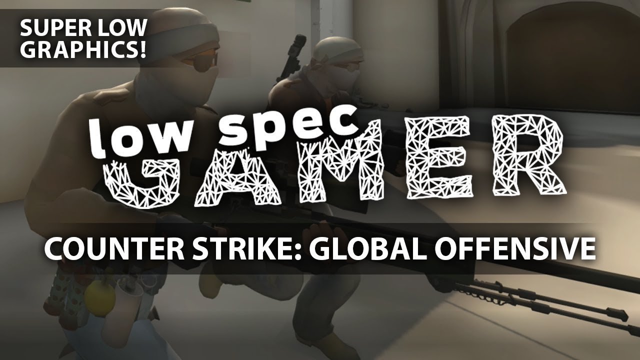 Super low graphics on CSGO, FPS Boost on almost any GPU  WARNING: READ  DESCRIPTION
