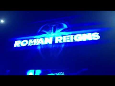 Roman Reigns entrance | wwe live event | France