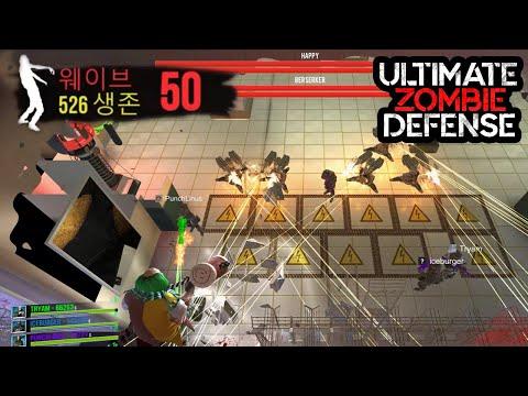50웨이브 보스전 :: 얼티메이트 좀비 디펜스[Ultimate Zombie Defense](4K)  