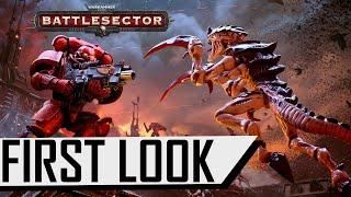 Warhammer 40,000: Battlesector - First Look