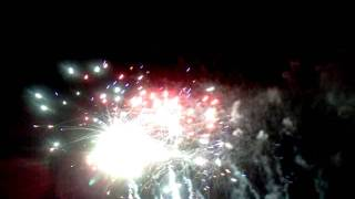 Coconut Grove Fire Works 2011