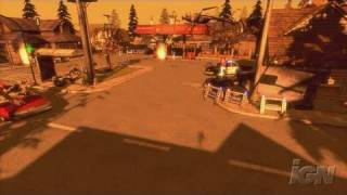 Monster Madness: Battle for Suburbia Xbox 360 Trailer -